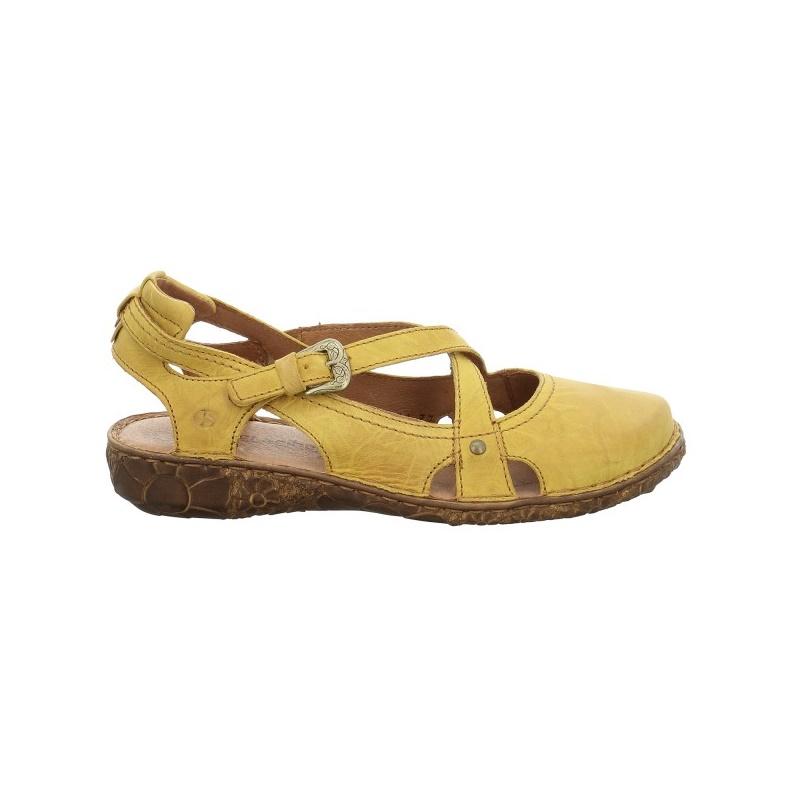 Romika sandały miękkie skórzane brązowe